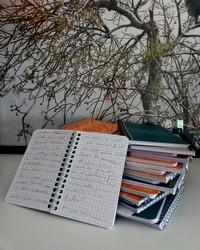 Expérience d'autobiographie collective avec Mathieu Simonet : Carnet 5