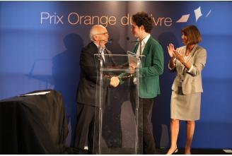 Cérémonie de remise du Prix Orange du Livre 2012