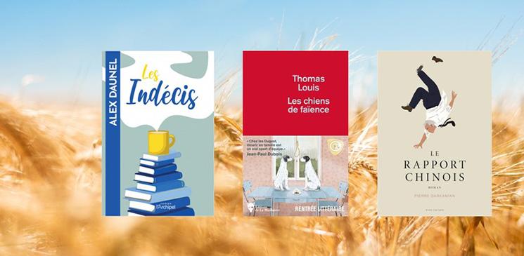 """Notre rubrique """"Premières fois"""" : 3 romans à découvrir"""