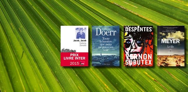 Eté 2015, les 10 romans à lire absolument !