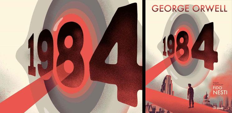 """On aime, on vous fait gagner le roman graphique """"1984"""" de Fido Nesti, d'après l'œuvre de George Orwell"""