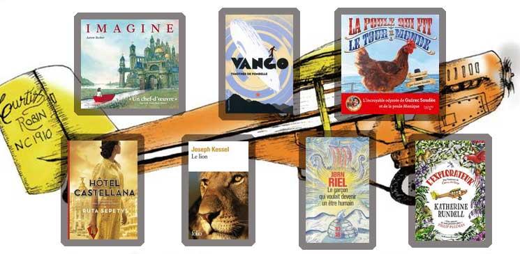 Des livres jeunesse pour voyager et partir à l'aventure