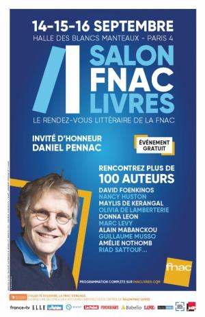 Salon FNAC Livres 2018 : la programmation de la troisième édition et les 4 finalistes du prix du roman FNAC 2018
