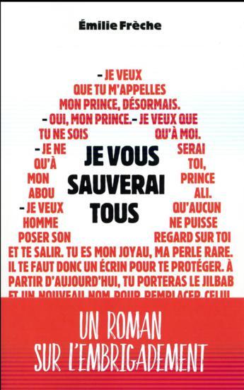 """Pépites de la rentrée littéraire 2017 """"Je vous sauverai tous"""" d'Émilie Frèche"""