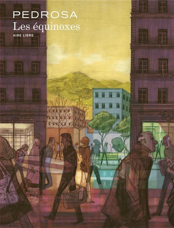 """Lecteur du mois, en janvier Olivier a lu  """"Les équinoxes"""" de Cyril Pedrosa"""