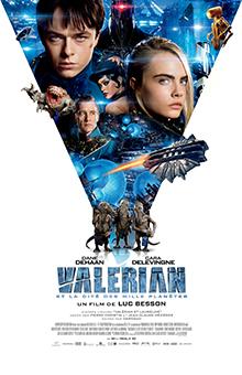 """Tentez de gagner des albums """"Valérian"""" et des places pour aller voir le film au cinéma !"""