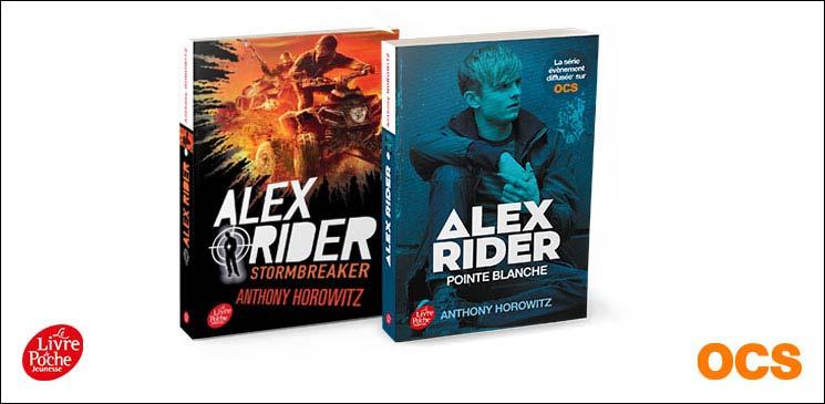 Interview d'Anthony Horowitz, créateur d'Alex Rider et producteur exécutif de la série éponyme : des livres à gagner !