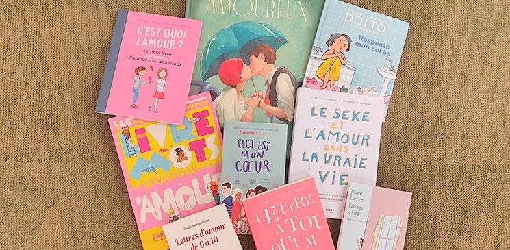 Amour et sexualité : des livres jeunesse pour en parler