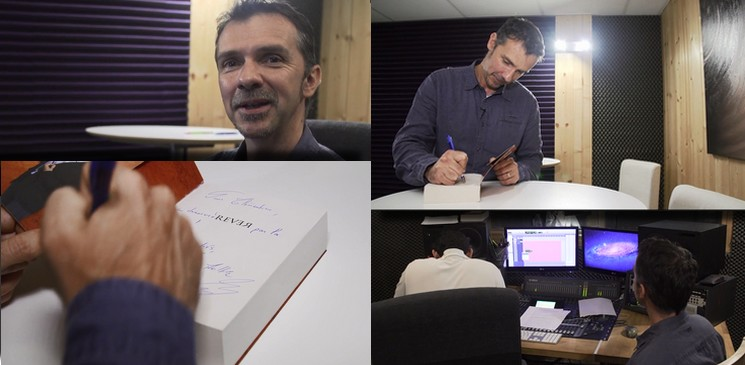 Découvrez les coulisses de fabrication d'un livre audio avec Audiolib