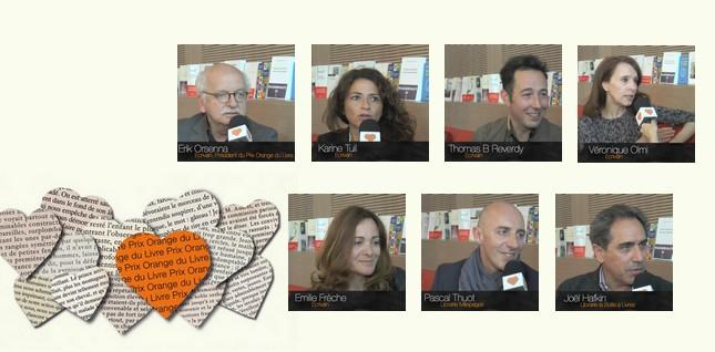 Les auteurs et libraires membres du jury du Prix Orange du Livre 2014 partagent leur avis !