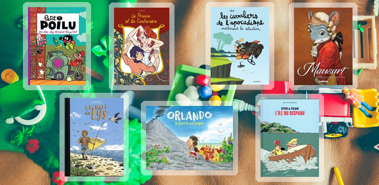 7 bandes dessinées jeunesse pour mettre des bulles dans votre année 2019
