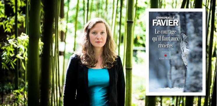 """Les lectures d'Emmanuelle Favier, auteure du premier roman """"Le courage qu'il faut aux rivières"""""""