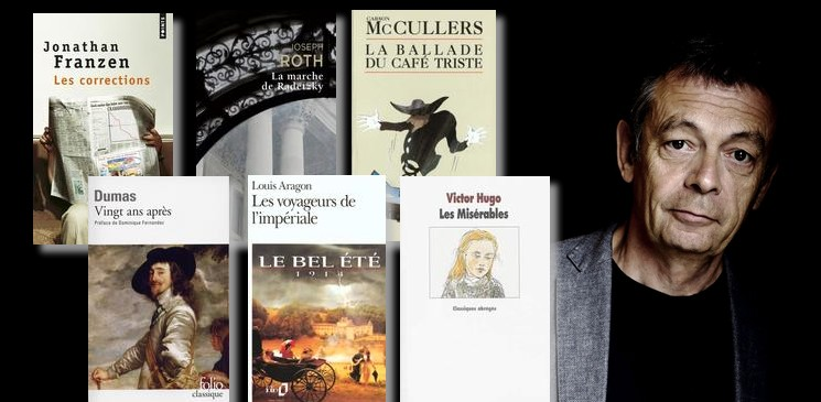 La bibliothèque idéale de Pierre Lemaitre