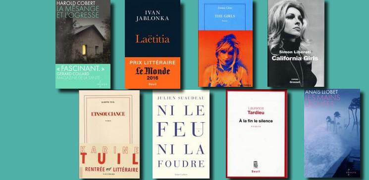 Rentrée littéraire 2016 : quand les auteurs sont touchés et inspirés par l'actualité