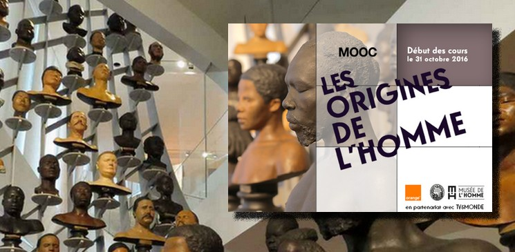 """Cet automne, suivez le MOOC """"Les origines de l'Homme"""" et retrouvez vos origines"""