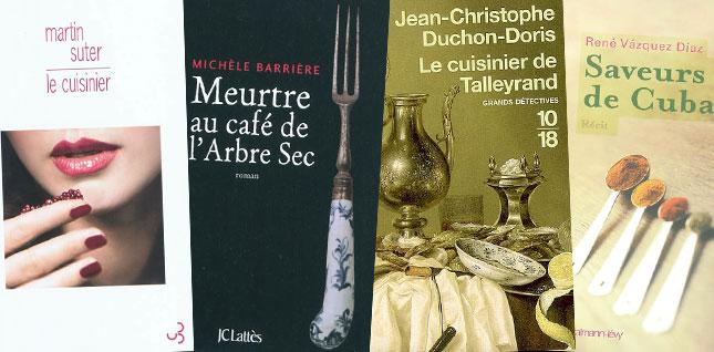 Le roman se met à table : quand la cuisine inspire les écrivains