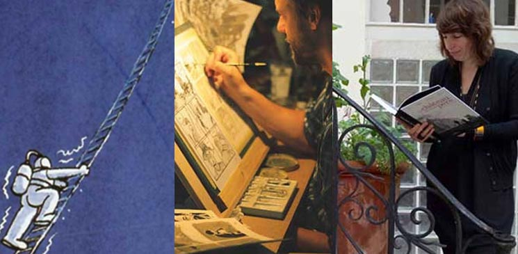 La bibliothèque idéale de Maïté Labat et d'Alexis Vitrebert, lauréats du 1er Prix BD Lecteurs.com