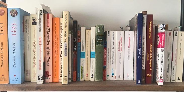 La bibliothèque idéale de Laurent Binet : autour du Nouveau Monde et des Conquistadors
