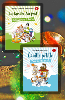 On aime, on vous fait gagner 2 nouvelles BD jeunesse pleines de bonne humeur !