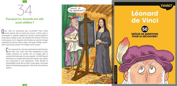 On aime, on vous fait gagner le livre jeunesse idéal pour découvrir Léonard de Vinci !