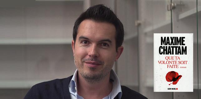 Conversation virtuelle avec Maxime Chattam