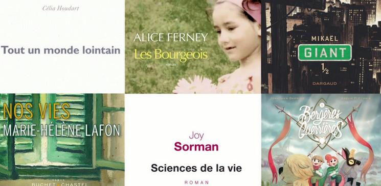 Rentrée Littéraire : 6 romans et BD à ne pas rater !
