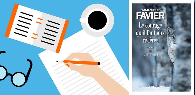 """""""Le courage qu'il faut aux rivières"""" d'Emmanuelle Favier, un premier roman émouvant et fort"""