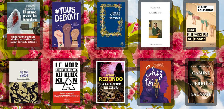 Les 10 livres coups de cœur des lecteurs - avril 2021