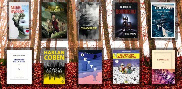 Les 10 livres coups de cœur des lecteurs - octobre 2020
