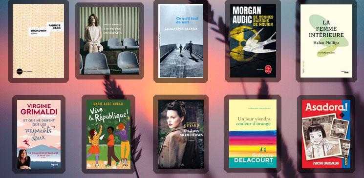 Les 10 livres coups de cœur des lecteurs - août 2020