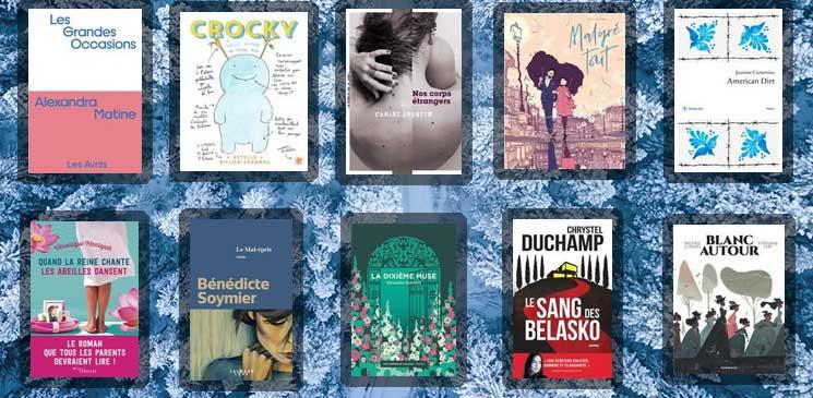 Les 10 livres coups de cœur des lecteurs - janvier 2021