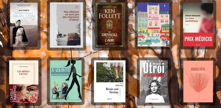 Les 10 livres coups de cœur des lecteurs - novembre 2020