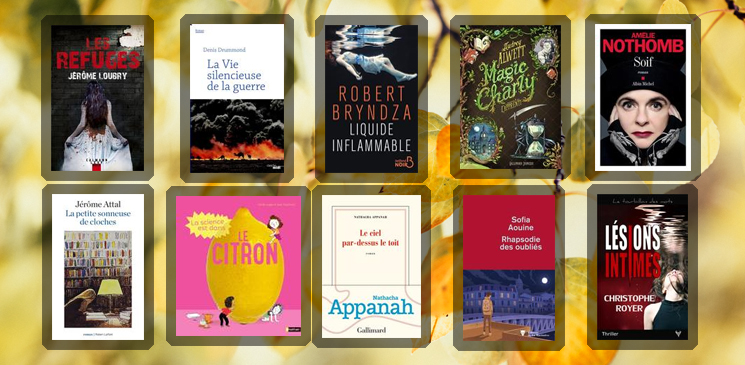 Les 10 livres coups de cœur des lecteurs - septembre 2019