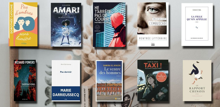 Les 10 livres coups de cœur des lecteurs - septembre 2021