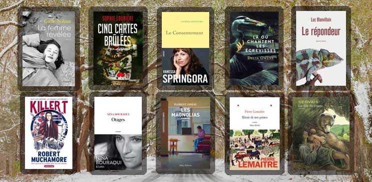 Les 10 livres coups de cœur des lecteurs - janvier 2020