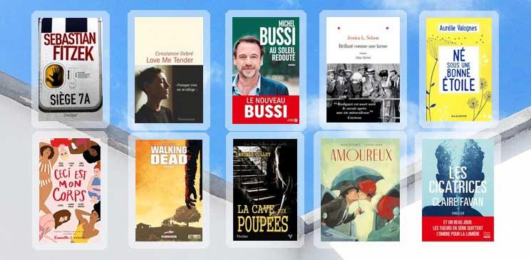 Les 10 livres coups de cœur des lecteurs - mars 2020