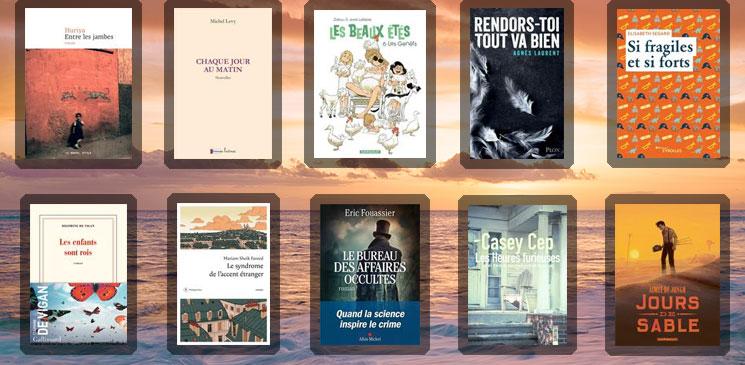 Les 10 livres coups de cœur des lecteurs - juin 2021