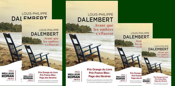 """""""Avant que les ombres s'effacent"""" Prix Orange du Livre 2017 à gagner avec les éditions Points"""