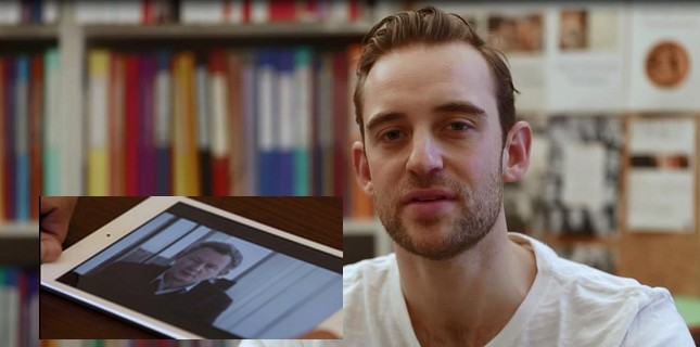 """Vincent """"rencontre"""" Joël Dicker en Conversation Virtuelle"""