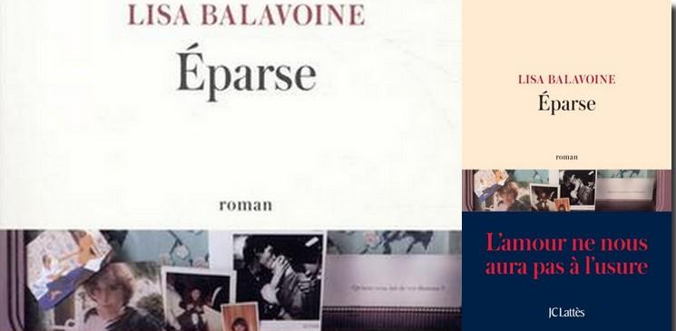 """""""Éparse"""" de Lisa Balavoine, ou les fragments d'un discours d'une amoureuse de la vie"""