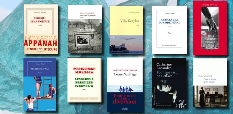 Eté 2017, 10 romans incontournables