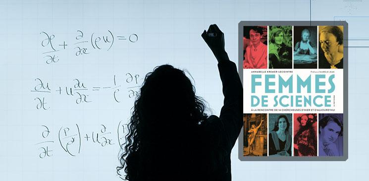 """Découvrez l'interview d'Annabelle Kremer-Lecointre et recevez son livre """"Femmes de science"""" !"""
