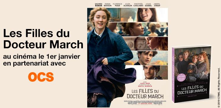 """Evénément : gagnez des places de cinéma pour """"Les Filles du Docteur March"""", ou le grand roman à l'origine du film !"""
