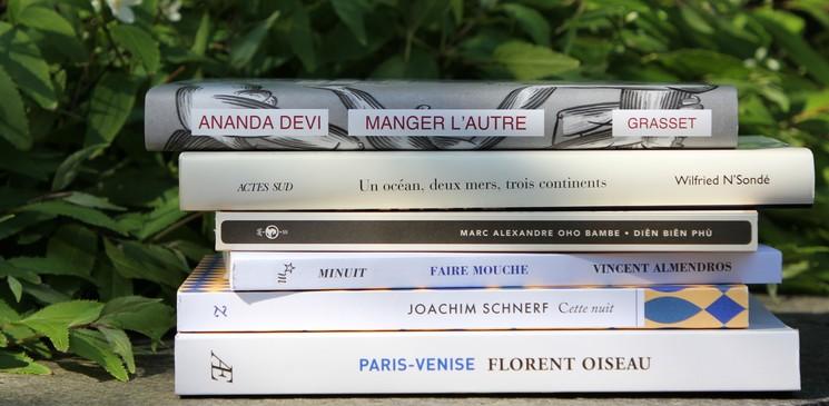 Le jury du Prix Orange du Livre 2018 a sélectionné les romans finalistes