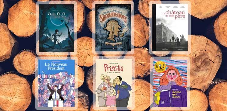 Voici les 6 bandes dessinées finalistes du Prix BD Lecteurs.com 2020 !