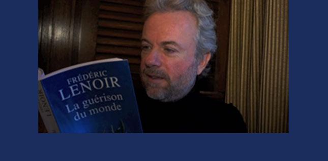 """Autour d'un verre avec Frédéric Lenoir pour """"La guérison du monde"""""""