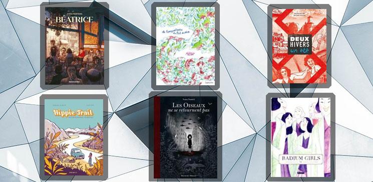 On aime, on vous fait gagner les 6 albums finalistes du Prix BD Lecteurs.com !