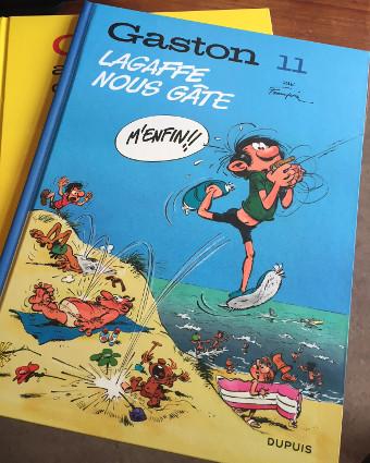 Le retour de Gaston Lagaffe : restauration et réédition de l'œuvre de Franquin