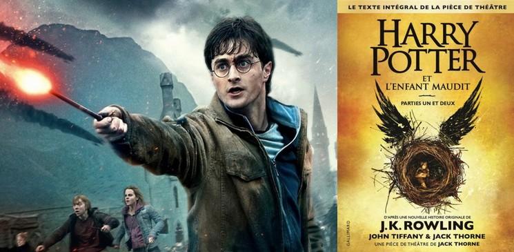 On aime, on vous fait gagner : Harry Potter et l'enfant maudit ; parties I et II