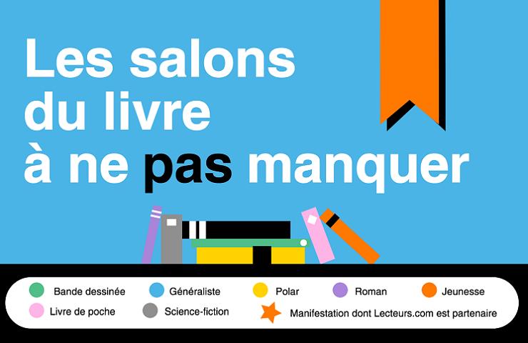 Les salons du livre incontournables en France
